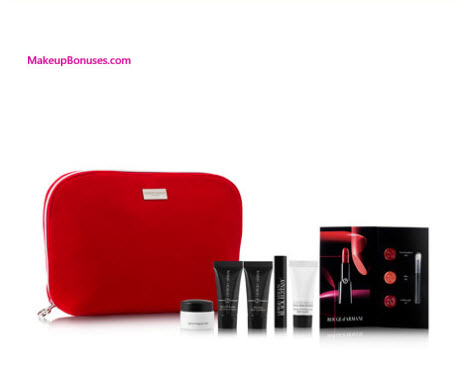 Receive a free 7-pc gift with your $300 Giorgio Armani purchase