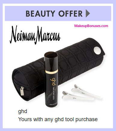 Receive a free 4-pc gift with your any ghd tool purchase