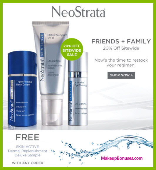 NeoStrata Sale - MakeupBonuses.com