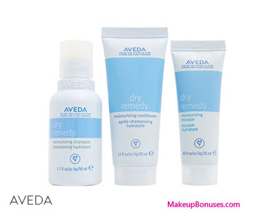 Receive a free 3-pc gift with your $50 Aveda purchase