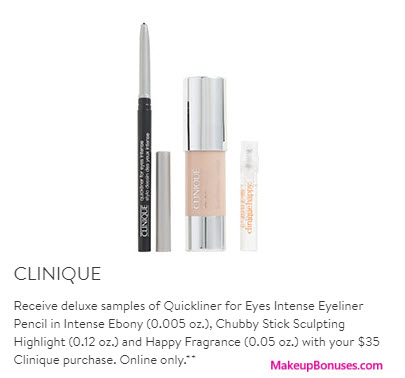Clinique Gift with Purchase at Nordstrom - MakeupBonuses.com