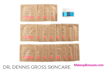 Receive a free 21-pc gift with your $175 Dr Dennis Gross purchase