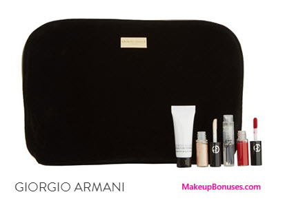 Receive a free 5-pc gift with your $175 Giorgio Armani purchase
