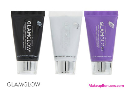 Receive a free 3-pc gift with your $69 GlamGlow purchase