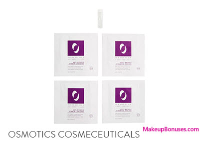 Receive a free 4-pc gift with your $75 Osmotics Cosmeceuticals purchase