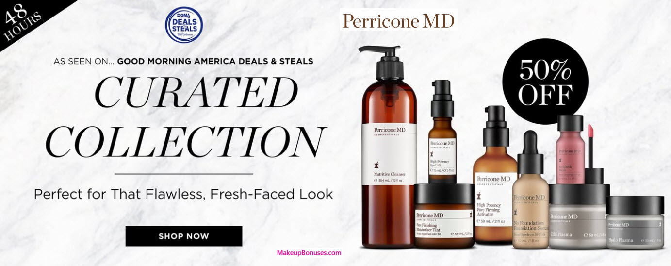 Perricone MD Sale - MakeupBonuses.com