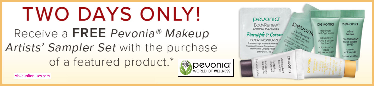 Receive a free 6-pc gift with your Featured Product purchase