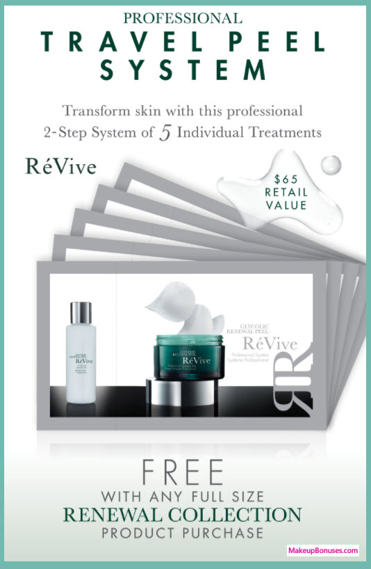 Receive a free 5-pc gift with your Full Size Renewal Collection purchase