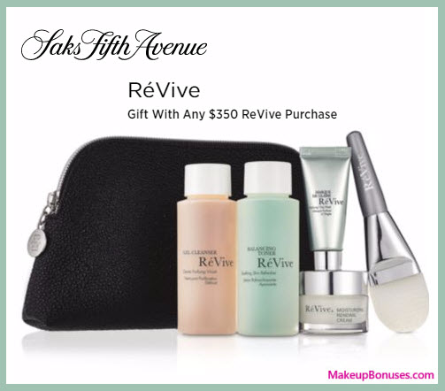 Receive a free 6-pc gift with your $350 RéVive purchase