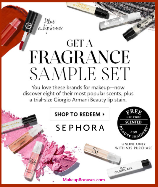 Receive a free 9-pc gift with your $35 Multi-Brand purchase