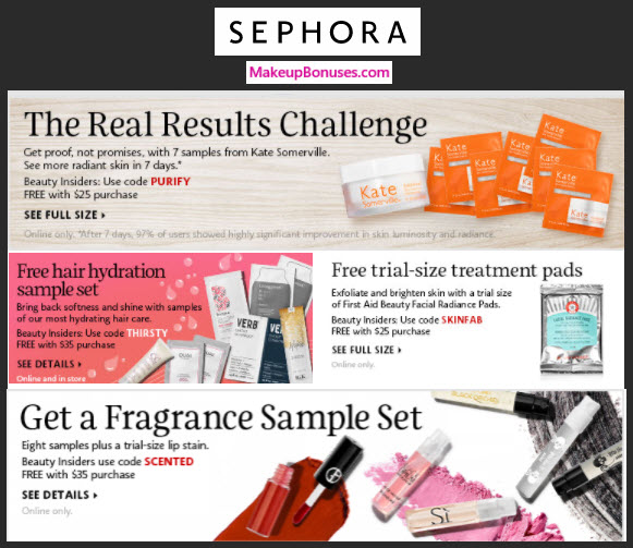 Receive a free 7-pc gift with your $25 Multi-Brand purchase