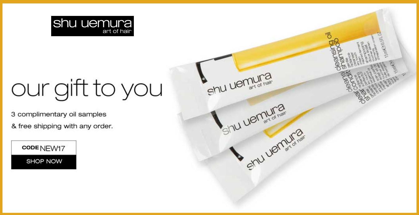 Shu uemura coupon