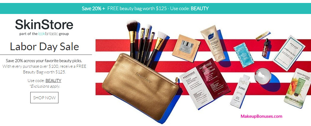 Receive a free 12-pc gift with your $100 Multi-Brand purchase
