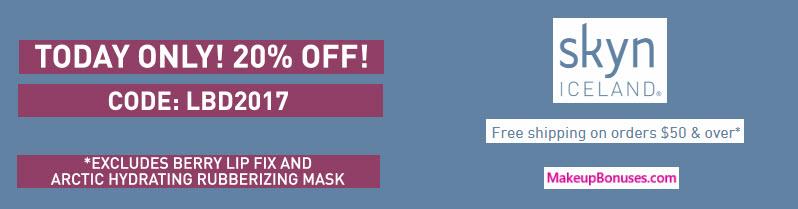 Skyn Iceland Sale - MakeupBonuses.com