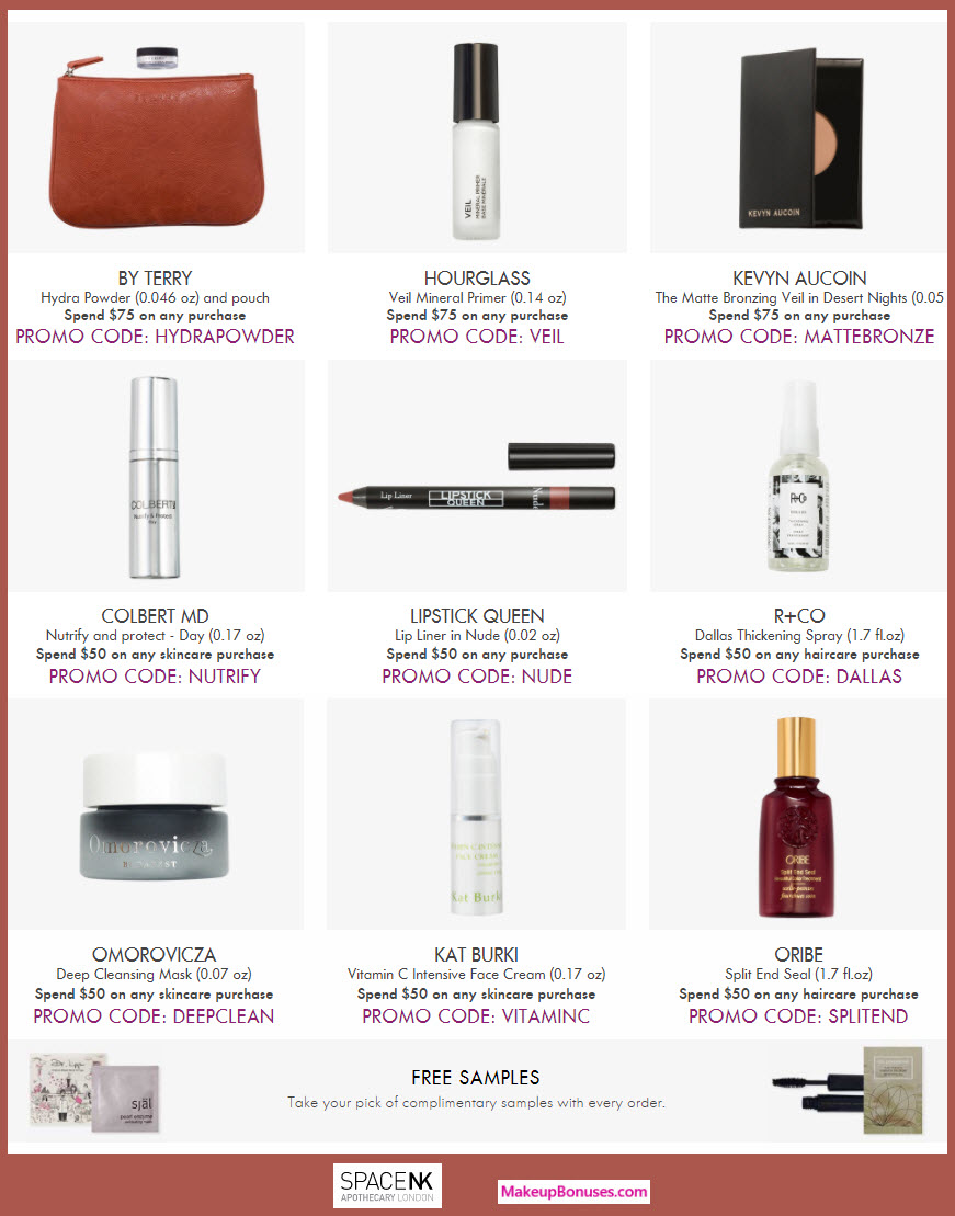 Receive a free 5-pc gift with your $75 Multi-Brand purchase