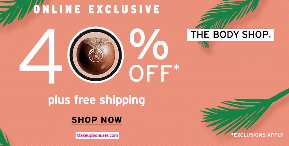 The Body Shop Sale - MakeupBonuses.com