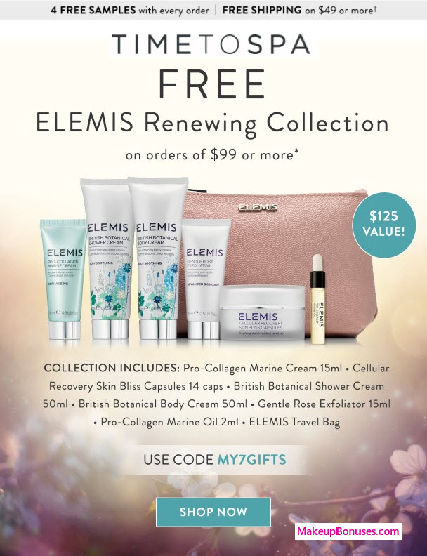 Receive a free 7-pc gift with your $99 Multi-Brand purchase