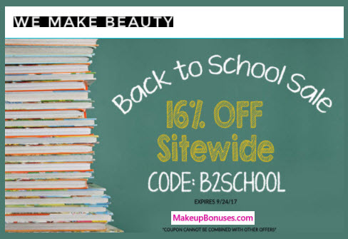 We Make Beauty Sale - MakeupBonuses.com