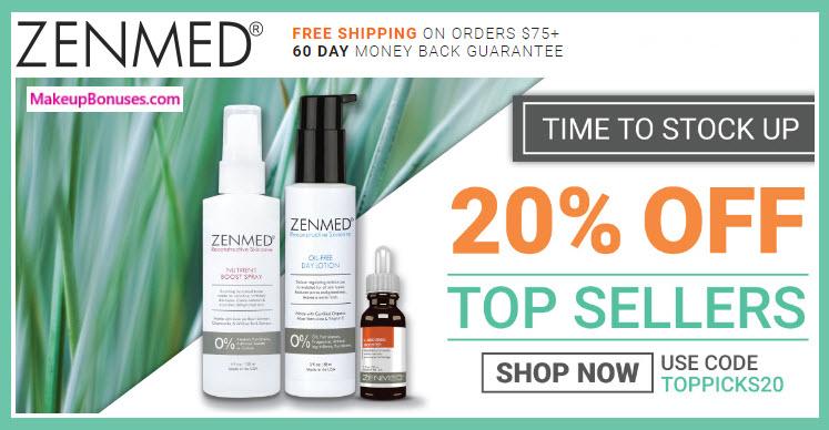ZENMED Sale - MakeupBonuses.com
