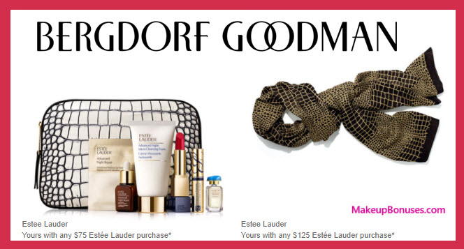Receive a free 7-pc gift with your $75 Estée Lauder purchase
