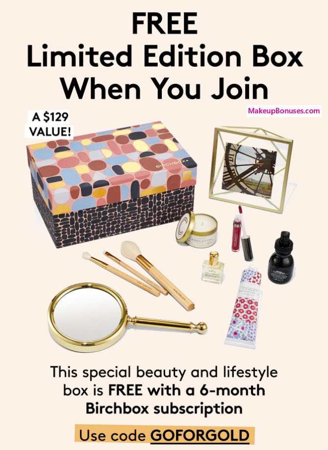 Receive a free 9-pc gift with your 6-month subscription purchase