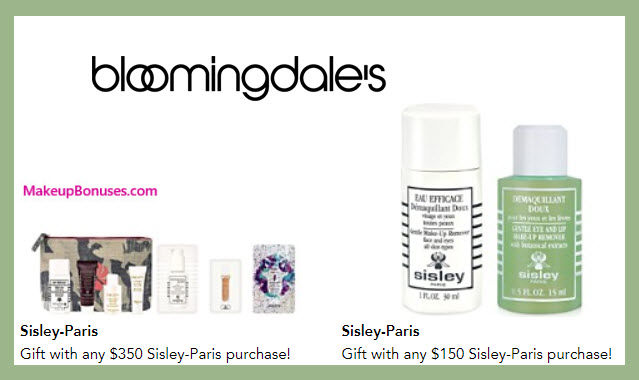 Receive a free 12-pc gift with your $350 Sisley Paris purchase