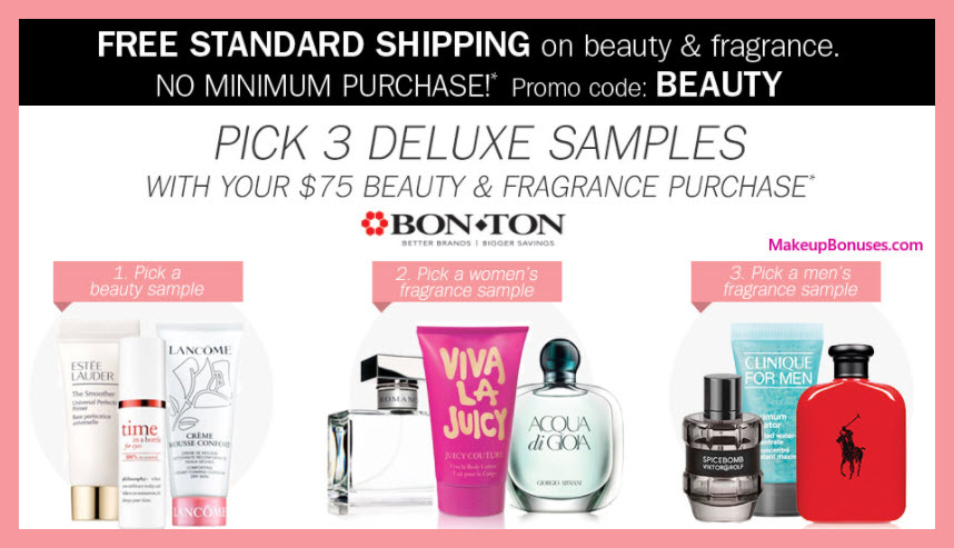 Receive your choice of 3-pc gift with your $75 Multi-Brand purchase