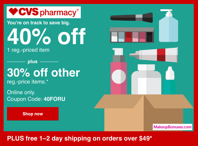 discounts at cvs pharmacy makeup bonuses
