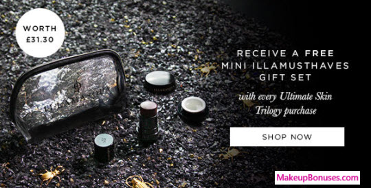 Receive a free 3-pc gift with your Ultimate Skin Trilogy purchase