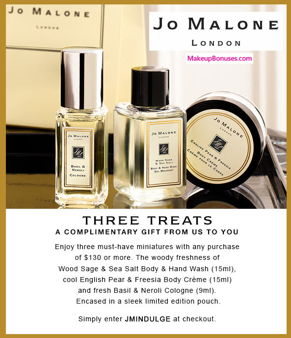 JO MALONE DISCOUNT COUPONS