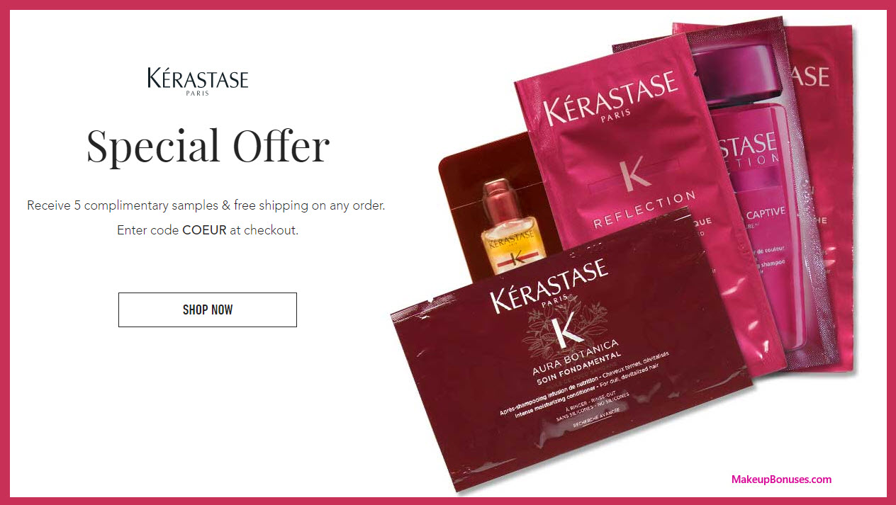 Receive a free 5-pc gift with your purchase