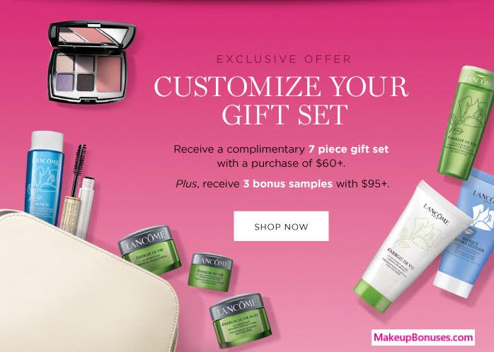 lancome free gift
