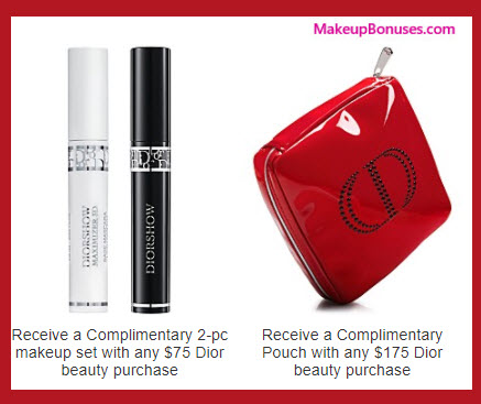 Receive a free 3-pc gift with your $175 Dior Beauty purchase