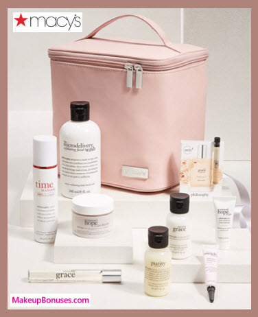 Receive a free 6-pc gift with your $150 philosophy purchase