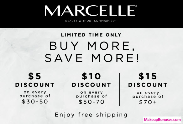 Marcelle Sale - MakeupBonuses.com