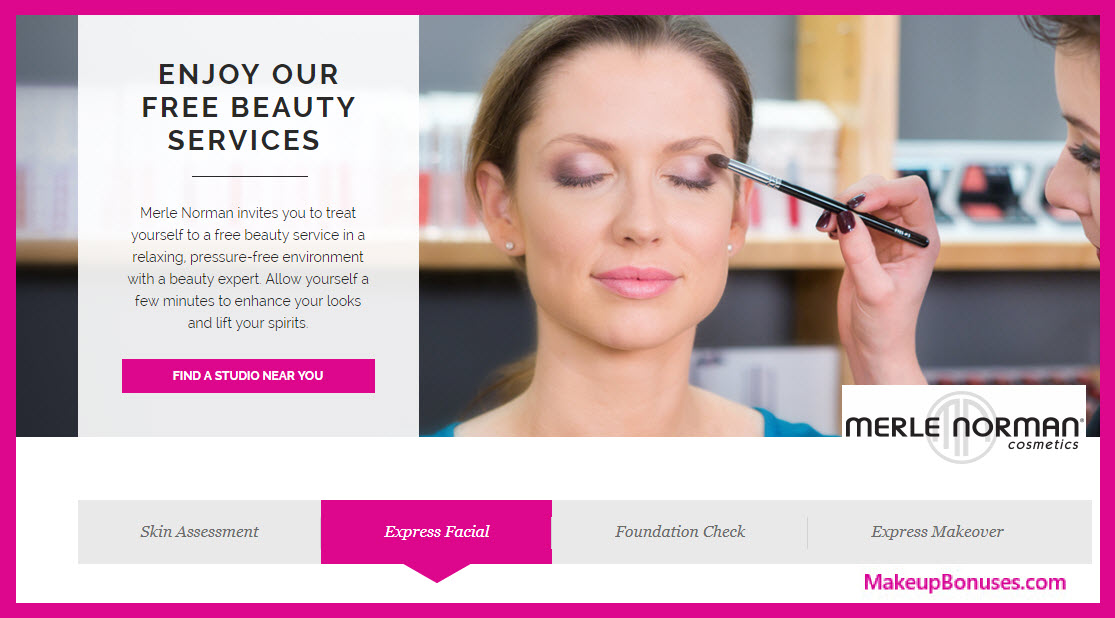 Merle Norman Beauty Services - Free Facials, Makeovers, & More - MakeupBonuses.com