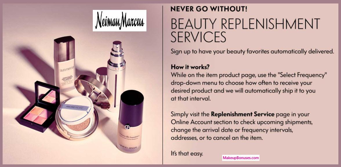 Neiman Marcus Auto Delivery Service - MakeupBonuses.com