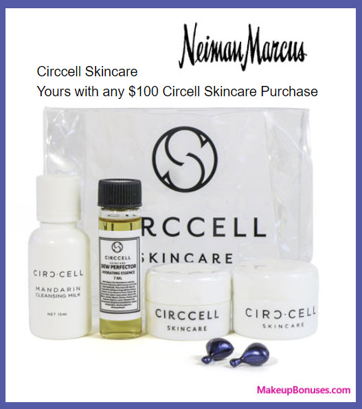 Receive a free 6-pc gift with your $100 Circ-Cell purchase