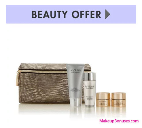 Receive a free 5-pc gift with your $125 Estée Lauder purchase