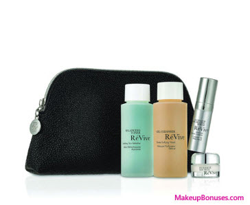 Receive a free 4-pc gift with your $350 RéVive purchase