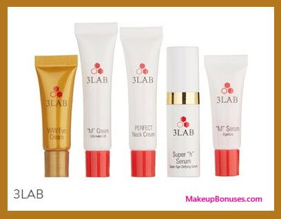 Receive a free 5-pc gift with your $275 3LAB purchase