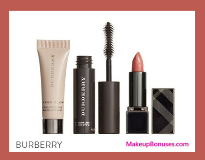 Receive a free 3-pc gift with your $100 Burberry purchase