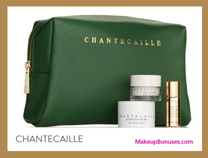 Receive a free 4-pc gift with your $300 Chantecaille purchase