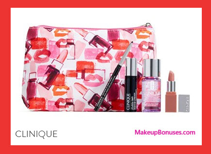 Receive a free 5-pc gift with your $40 Clinique purchase