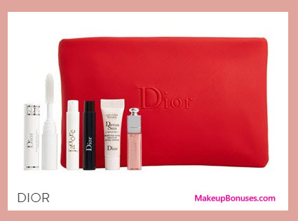 Receive a free 6-pc gift with your $150 Dior Beauty purchase