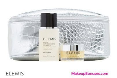 Receive a free 3-pc gift with your $80 Elemis purchase