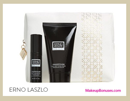 Receive a free 3-pc gift with your $175 Erno Laszlo purchase