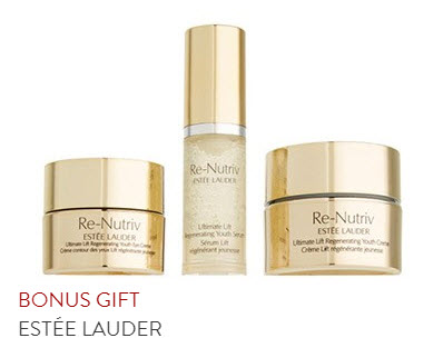 Receive a free 11-pc gift with your $100 Estée Lauder purchase