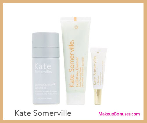 Receive a free 3-pc gift with your $175 Kate Somerville purchase