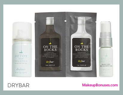 Receive a free 4-pc gift with your $55 drybar purchase